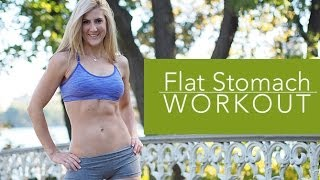 "The ""all I Want For Christmas Is A Flat Stomach"" Holiday Workout!!"
