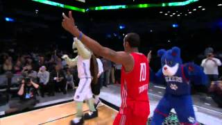 Jarvis Threatt Takes Over the NBA D-League Dunk Contest!