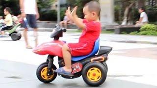 Bé đội Mũ bảo hiểm đi xe - Bicycle Helmets for Babies ?