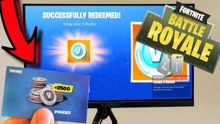 Bomb!! FREE V-BUCKS CODE AT FORTNITE