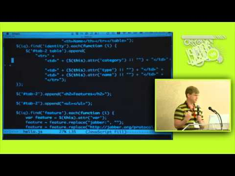 Jack Moffitt: The Real Time Web with XMPP