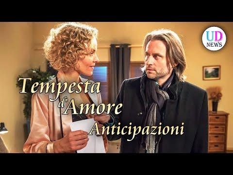 Tempesta d'Amore Anticipazioni. Puntate 21-27 Gennaio 2019. Michael e Natascha Si Lasciano!