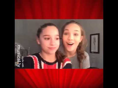 Maddie Ziegler and Mackenzie Lip sync Musical.ly - Where are you ...