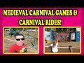 Carnival Games, Human Powered Carnival Rides, and throwing WEAPONS at the Renaissance Festival! FUN!