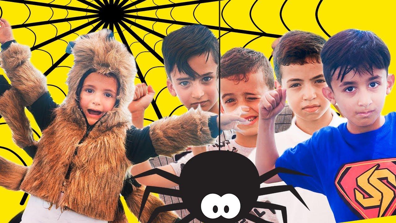 سوبر سمعة وفرح والاصدقاء - مقلب العنكبوت - super somaa
