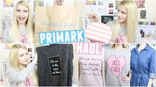 February Primark Haul 2016 & Try On