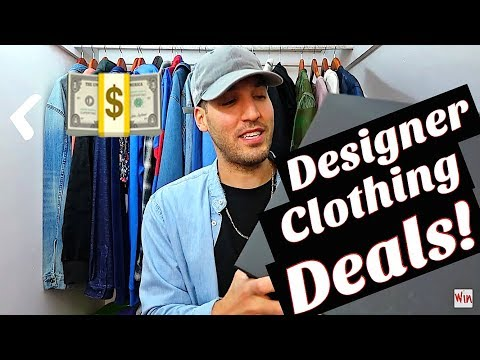 HOW TO GET DESIGNER CLOTHING & SHOES FOR LESS! MY PICKUPS! YEEZY - MARC JACOBS - MR. COMPLETELY