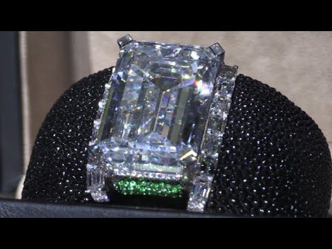 Christie's unveils largest flawless diamond at Dubai conference