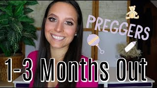 HOW I PREPARED MY BODY FOR PREGNANCY | 1-3 MONTHS OUT