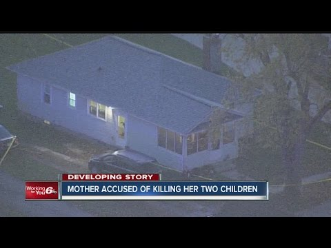 Mother accused of killing her two children