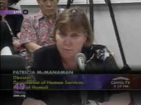 Hawaii State Senate committee on Health Judiciary Labor 2-6-2013 Part 3 of 5