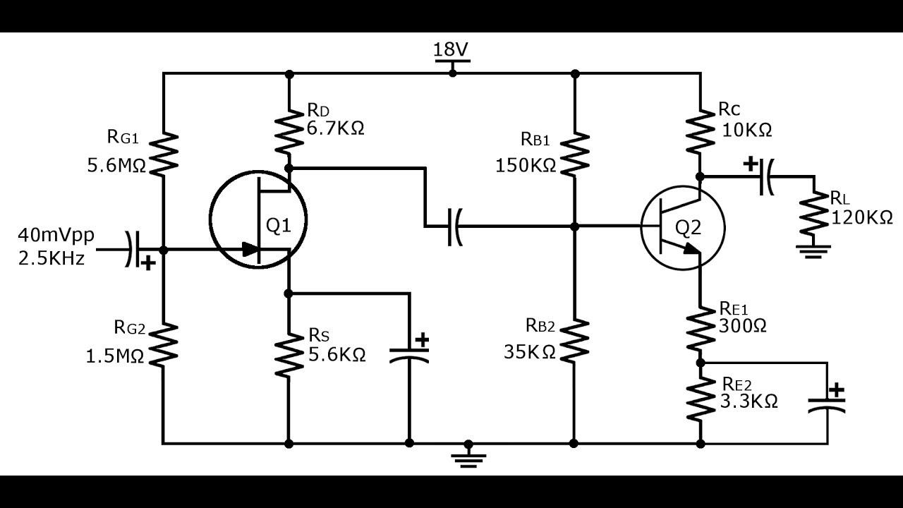 circuit of amplifier