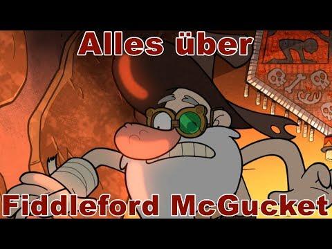 Personen aus Gravity Falls - Alles über Fiddleford McGucket /Geheimnisse/Informationen [HD/DE]