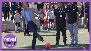 Prince William Wishes Football Clubs Good Luck Ahead of New Season