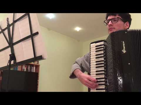 Neon Genesis Evangelion Opening - A Cruel Angel's Thesis | Accordion Cover