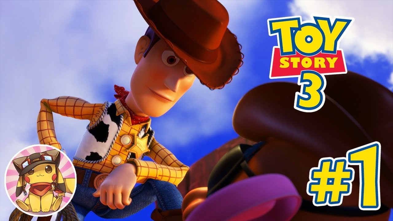 Toy Story 3 Train Games : Disney s toy story game movie walkthrough gameplay part