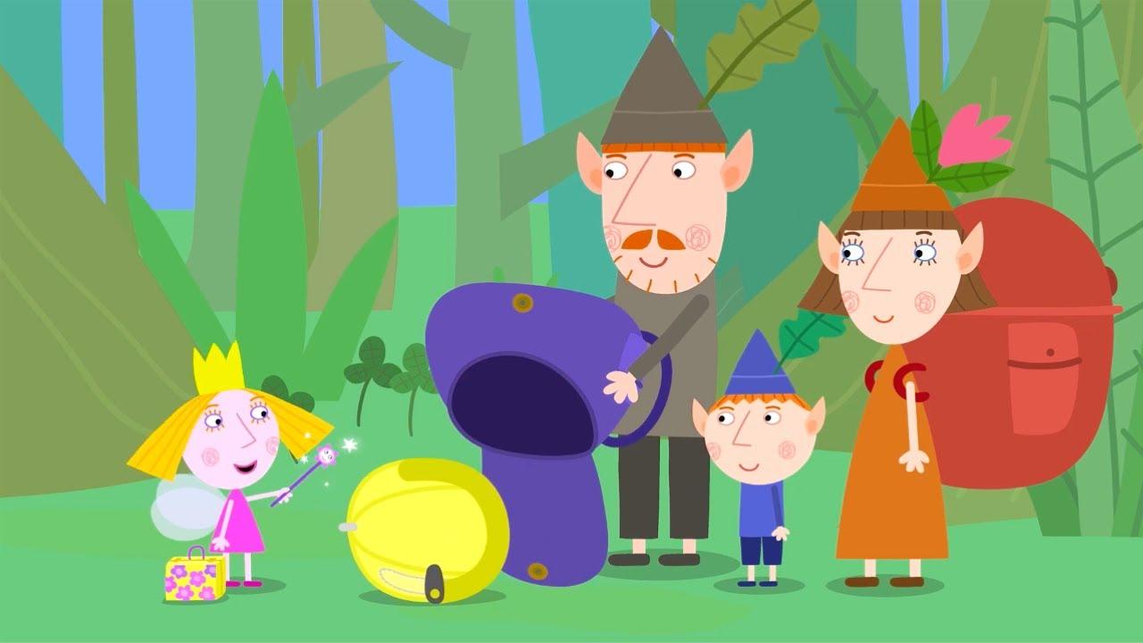 Ben y Holly en Español  🔦⛺ Acampando 🔦⛺ Dibujos Animados para Niños