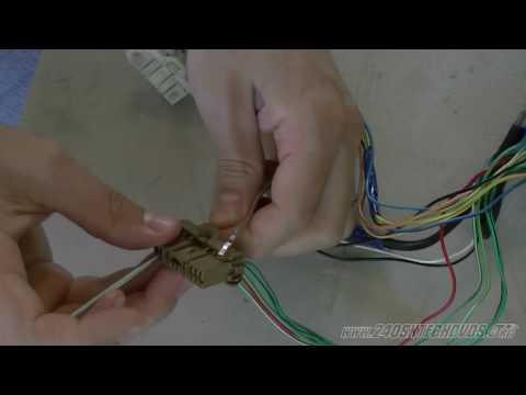 240sx ka sohc to dohc swap wiring part 2 ka24de ka24e s13 s14 1080 hd mp4 -  youtube