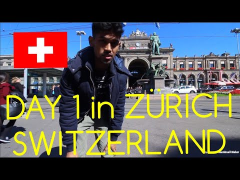 Visited the 3rd most expensive city on planet earth|PART 1|Zürich vlog