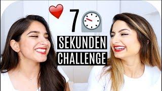 7 SEKUNDEN CHALLENGE mit meiner ZWILLINGSSCHWESTER ♥️ | Sanny Kaur