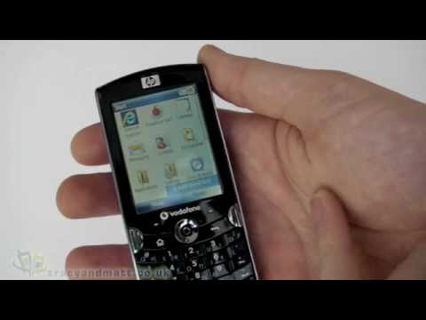 HP iPAQ Voice Messenger unboxing