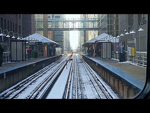 CTA Orange Line Pulaski st. to Loop
