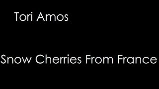 Tori Amos - Snow Cherries From France (lyrics)