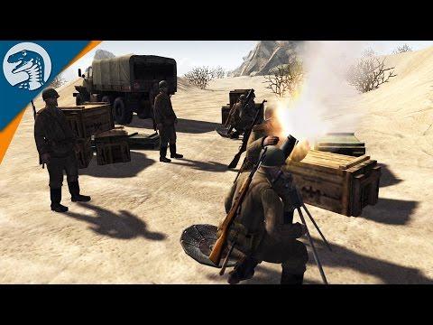 SIX DAY WAR: AIRFIELD BRAWL | Global Escalation Mod | Men of War: Assault Squad 2 [MOD] Gameplay