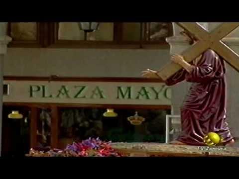 Nazareno de la Congregación Semana Santa Zamora año 2000
