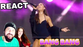 REAGINDO: ARIANA GRANDE - BANG BANG (LIVE REACTING)