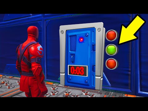 Only ONE BUTTON Will Open The DOOR! (Fortnite)