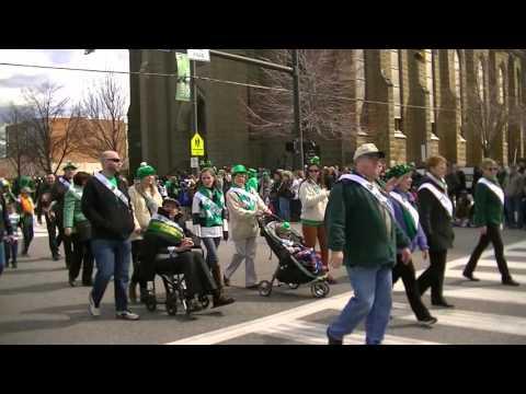 Ancient Order of Hibernians at Cleveland St Patrick's Day Parade