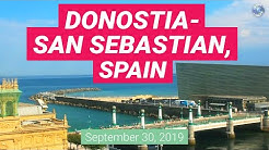 Donostia San Sebastian, Spain. Webcam City View
