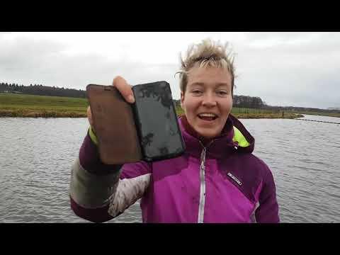 Magneetvissen met Naomi - Met Terrormagneet geldkistje mét geld gevonden!