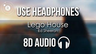 Ed Sheeran - Lego House (8D AUDIO)
