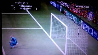 Fabregas goal (pes 6.5)