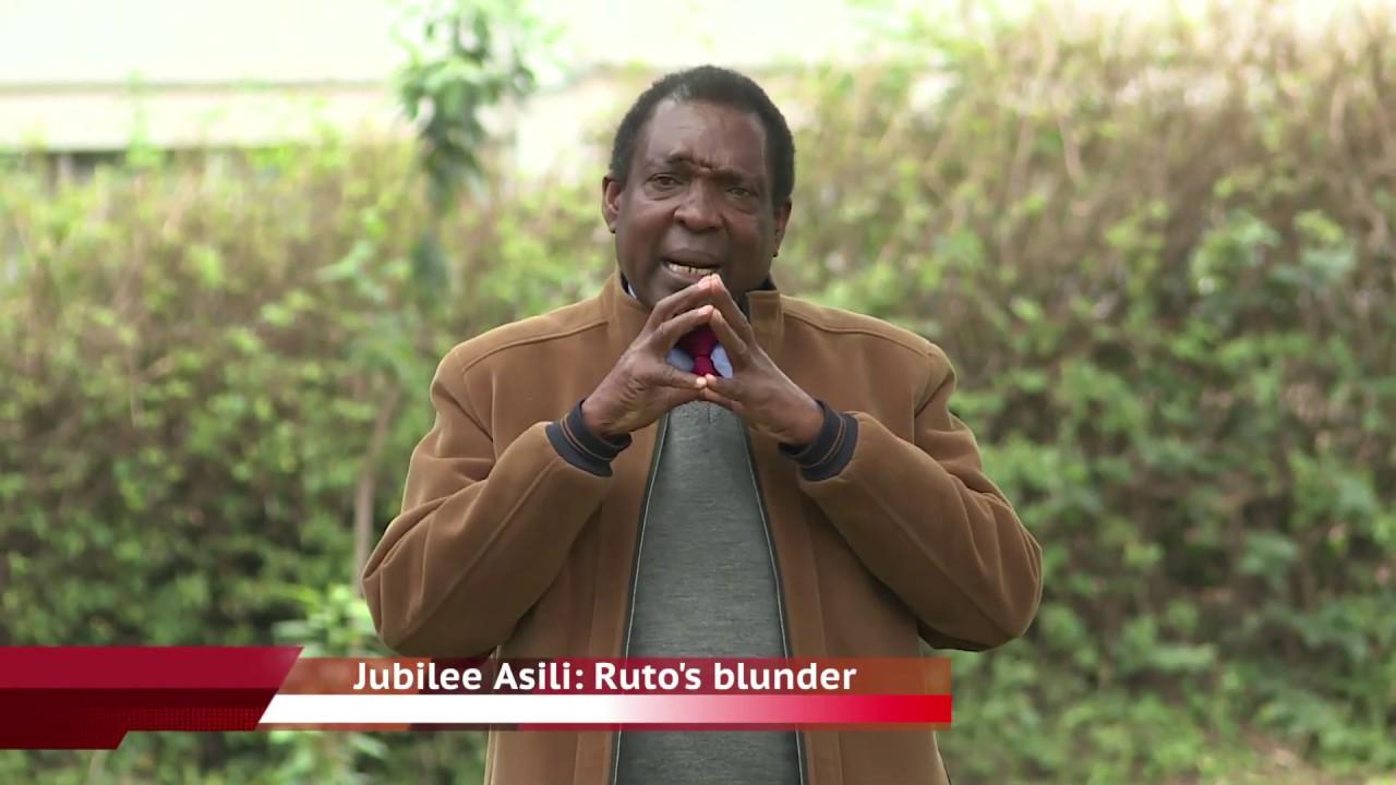 Jubilee Asili: Ruto's Blunder