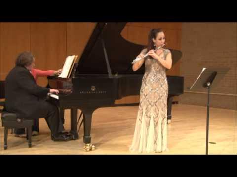 Jongen Flute Sonata, Mvt. 4