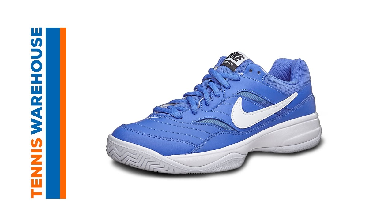55201bf08fca Nike Court Lite Tennis Shoe - YouTube