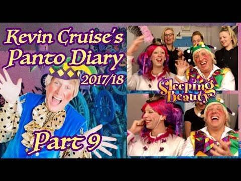 Kevin Cruise's Panto Diary 2017/18 part 9 Featuring Q&A WITH STEVEN BLAKELEY