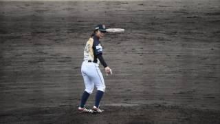 栃木ゴールデンブレーブス#49吉田えり投手 vs武蔵ヒートベアーズ(オー...