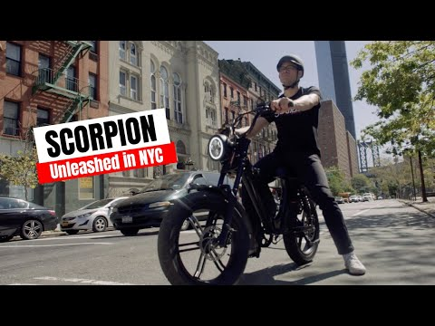 The New SCORPION Hits NYC
