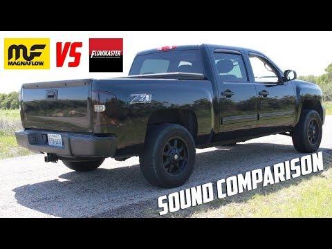 Flowmaster vs Magnaflow Sound Comparison - YouTube