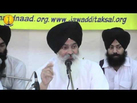 Prof Surjit Singh ji : Raag Ramkali : Gurmat Sangeet Workshop 2015
