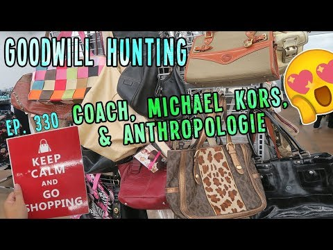 coach,-michael-kors,-&-anthropologie-|-goodwill-hunting-ep.-330