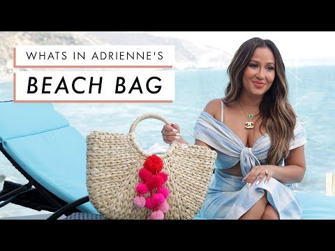 Adrienne Houghton's Beach Bag Essentials | All Things Adrienne