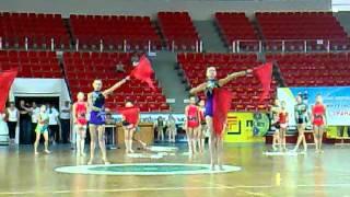 Показательные выступления гимнасток в РСК