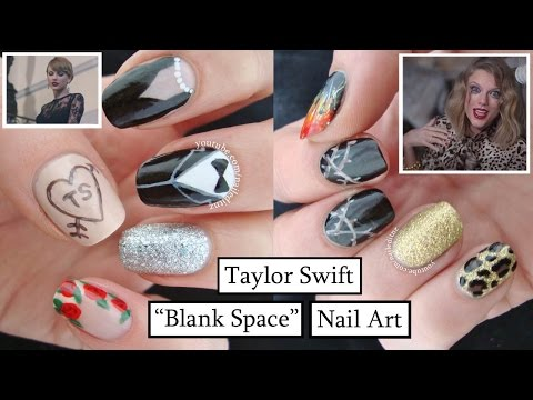 Taylor Swift - Blank Space | Nail Art