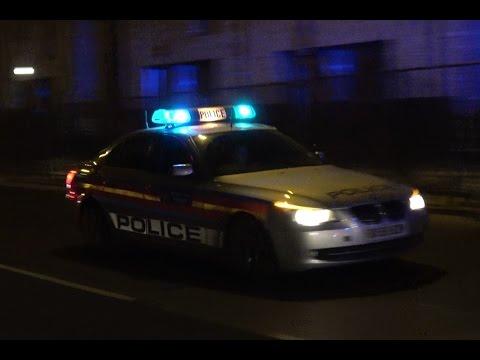 Multiple London Police Vehicles Responding