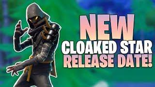 Fortnite Cloaked Star Skin Release Date - Skin Info - STW BR Pack